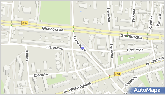Przystanek Międzyborska 07. ZTM Warszawa - Warszawa (id 200607) na mapie Targeo