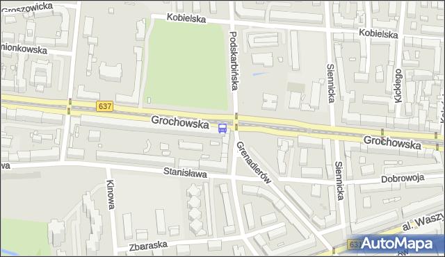 Przystanek Międzyborska 08. ZTM Warszawa - Warszawa (id 200608) na mapie Targeo