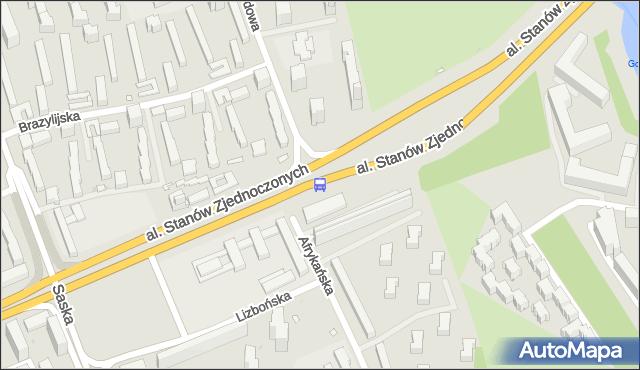 Przystanek Międzynarodowa 02. ZTM Warszawa - Warszawa (id 209802) na mapie Targeo