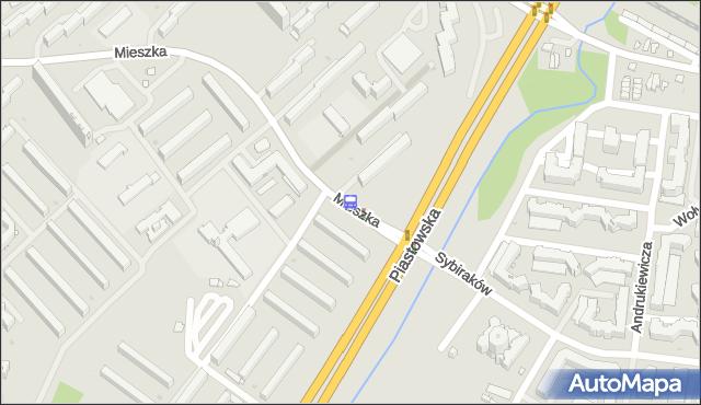 Przystanek Mieszka I/Piastowska. BKM - Białystok (id 255) na mapie Targeo