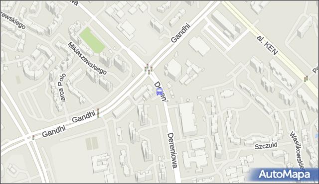 Przystanek Miklaszewskiego 01. ZTM Warszawa - Warszawa (id 313901) na mapie Targeo