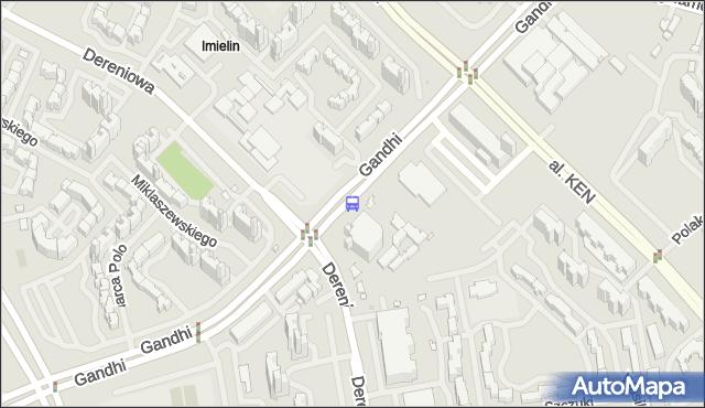 Przystanek Miklaszewskiego 03. ZTM Warszawa - Warszawa (id 313903) na mapie Targeo