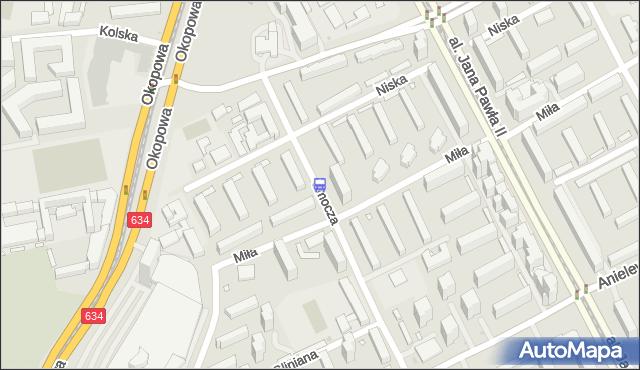 Przystanek Miła 02. ZTM Warszawa - Warszawa (id 515602) na mapie Targeo