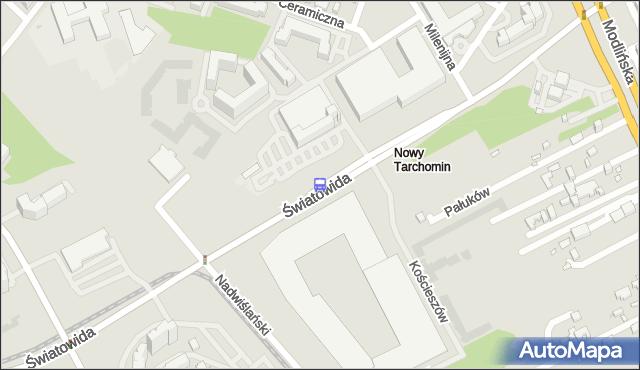 Przystanek Milenijna 02. ZTM Warszawa - Warszawa (id 121902) na mapie Targeo