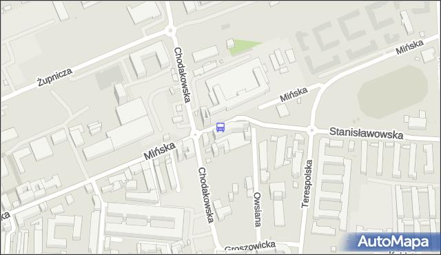 Przystanek Mińska 02. ZTM Warszawa - Warszawa (id 211702) na mapie Targeo