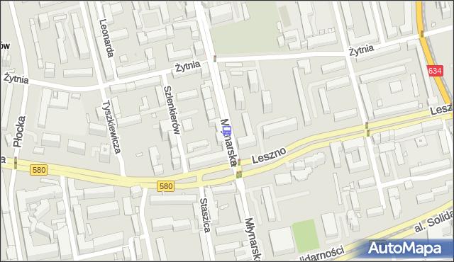 Przystanek Młynarska 03. ZTM Warszawa - Warszawa (id 502503) na mapie Targeo