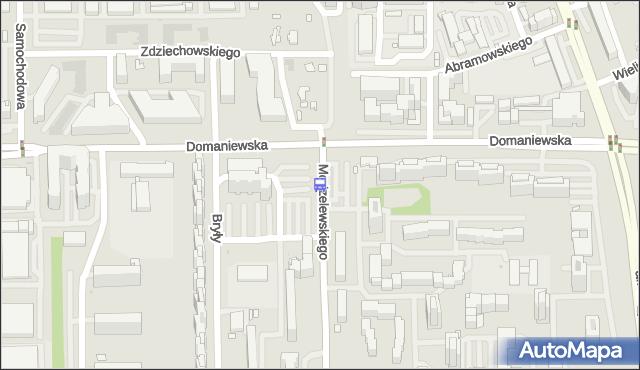 Przystanek Modzelewskiego 01. ZTM Warszawa - Warszawa (id 311201) na mapie Targeo