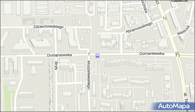 Przystanek Modzelewskiego 02. ZTM Warszawa - Warszawa (id 311202) na mapie Targeo