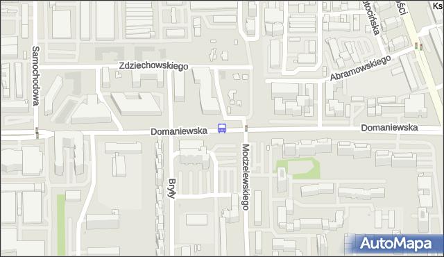 Przystanek Modzelewskiego 03. ZTM Warszawa - Warszawa (id 311203) na mapie Targeo