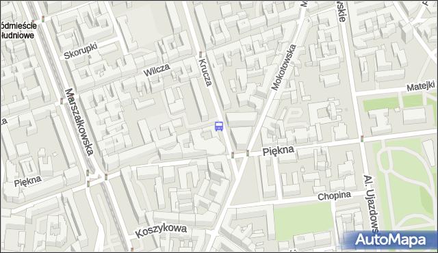 Przystanek Mokotowska 03. ZTM Warszawa - Warszawa (id 703503) na mapie Targeo