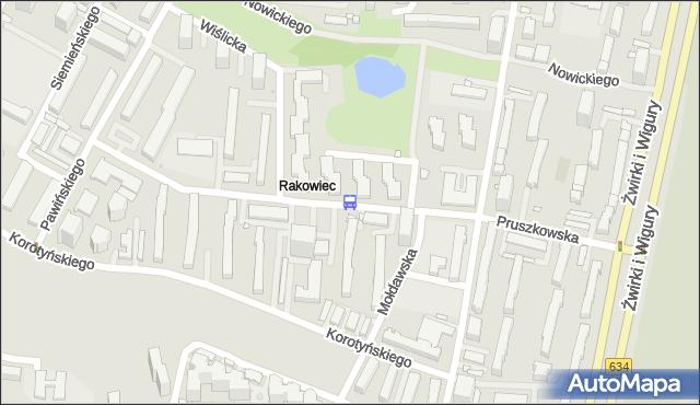 Przystanek Mołdawska 01. ZTM Warszawa - Warszawa (id 411201) na mapie Targeo