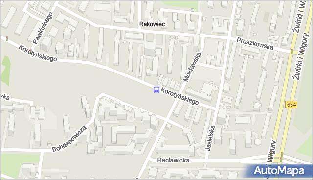Przystanek Mołdawska 02. ZTM Warszawa - Warszawa (id 411202) na mapie Targeo