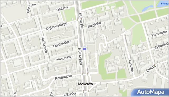 Przystanek Morskie Oko 02. ZTM Warszawa - Warszawa (id 300402) na mapie Targeo