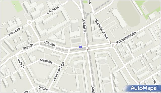 Przystanek Muranowska 02. ZTM Warszawa - Warszawa (id 701802) na mapie Targeo