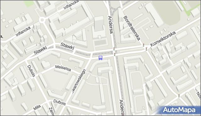 Przystanek Muranowska 03. ZTM Warszawa - Warszawa (id 701803) na mapie Targeo