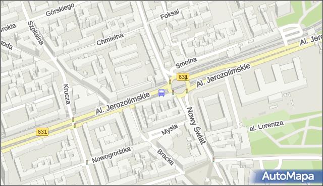 Przystanek Muzeum Narodowe 05. ZTM Warszawa - Warszawa (id 704105) na mapie Targeo
