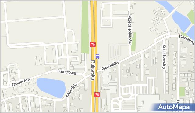 Przystanek Mysiadło 02. ZTM Warszawa - Warszawa (id 316002) na mapie Targeo