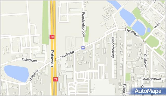 Przystanek Mysiadło 03. ZTM Warszawa - Warszawa (id 316003) na mapie Targeo