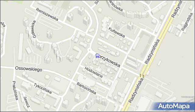 Przystanek Myszkowska 02. ZTM Warszawa - Warszawa (id 113602) na mapie Targeo