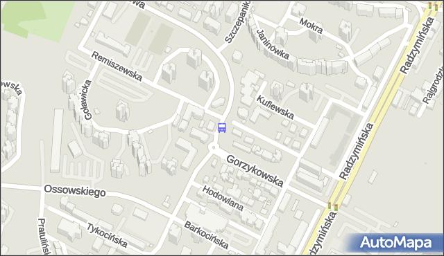 Przystanek Myszkowska 03. ZTM Warszawa - Warszawa (id 113603) na mapie Targeo