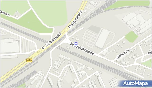 Przystanek Naczelnikowska 01. ZTM Warszawa - Warszawa (id 103501) na mapie Targeo