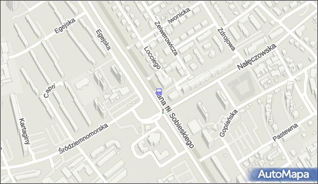 Przystanek Nałęczowska 02. ZTM Warszawa - Warszawa (id 303502) na mapie Targeo