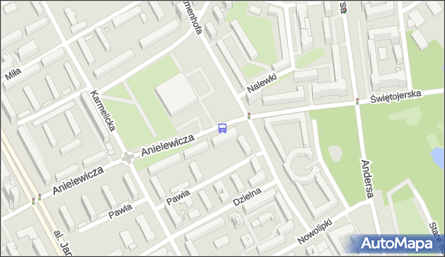 Przystanek Nalewki-Muzeum 01. ZTM Warszawa - Warszawa (id 702301) na mapie Targeo