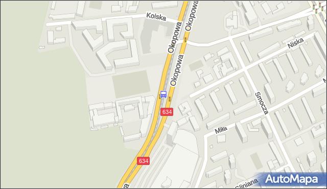 Przystanek Niska 03. ZTM Warszawa - Warszawa (id 508703) na mapie Targeo