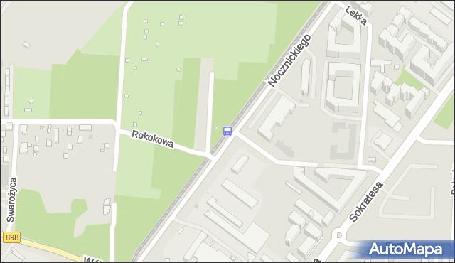 Przystanek Nocznickiego 01. ZTM Warszawa - Warszawa (id 605801) na mapie Targeo