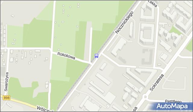 Przystanek Nocznickiego 02. ZTM Warszawa - Warszawa (id 605802) na mapie Targeo