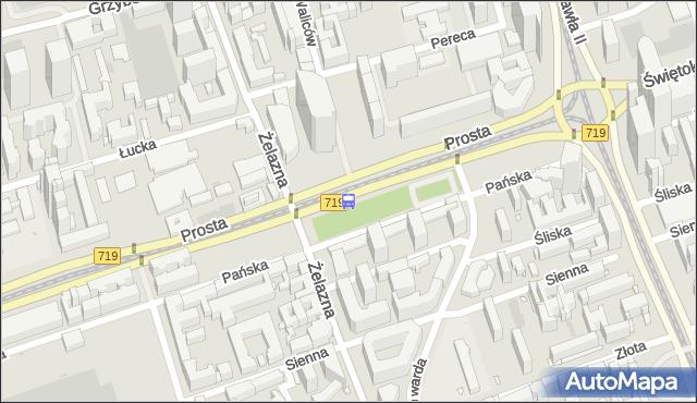 Przystanek Norblin 01. ZTM Warszawa - Warszawa (id 503901) na mapie Targeo