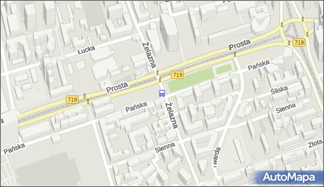 Przystanek Norblin 05. ZTM Warszawa - Warszawa (id 503905) na mapie Targeo