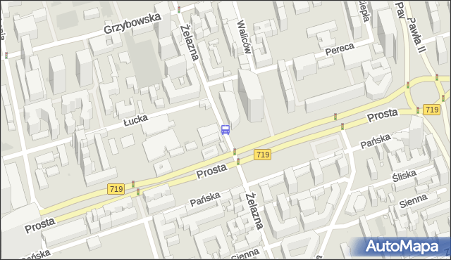 Przystanek Norblin 06. ZTM Warszawa - Warszawa (id 503906) na mapie Targeo