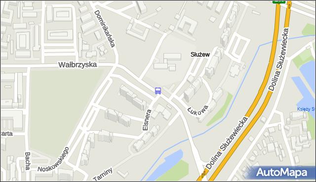 Przystanek Noskowskiego 02. ZTM Warszawa - Warszawa (id 309702) na mapie Targeo