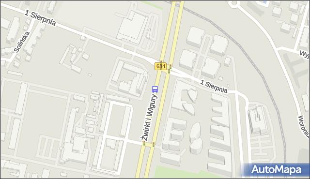 Przystanek Novotel 01. ZTM Warszawa - Warszawa (id 403501) na mapie Targeo