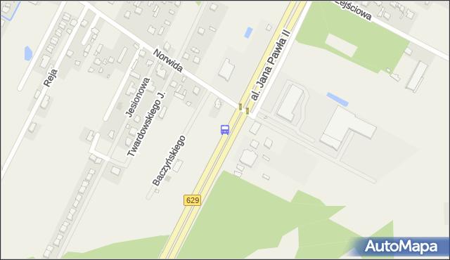 Przystanek Nowe Słupno 01. ZTM Warszawa - Warszawa (id 144901) na mapie Targeo
