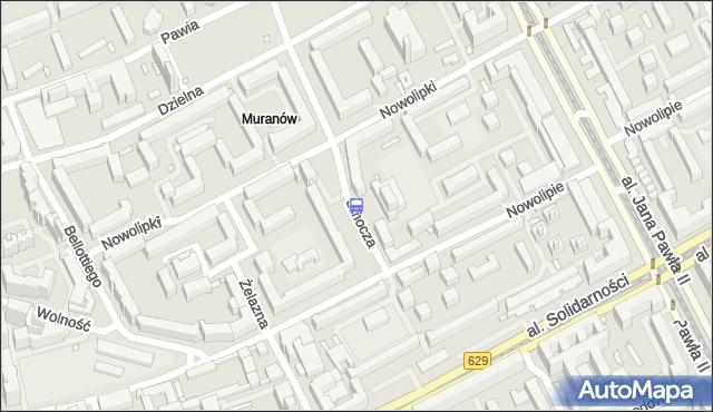 Przystanek Nowolipie 02. ZTM Warszawa - Warszawa (id 515402) na mapie Targeo
