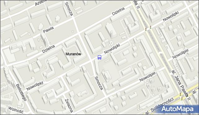Przystanek Nowolipie 03. ZTM Warszawa - Warszawa (id 515403) na mapie Targeo