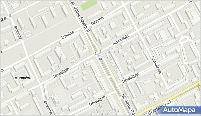 Przystanek Nowolipki 06. ZTM Warszawa - Warszawa (id 708206) na mapie Targeo