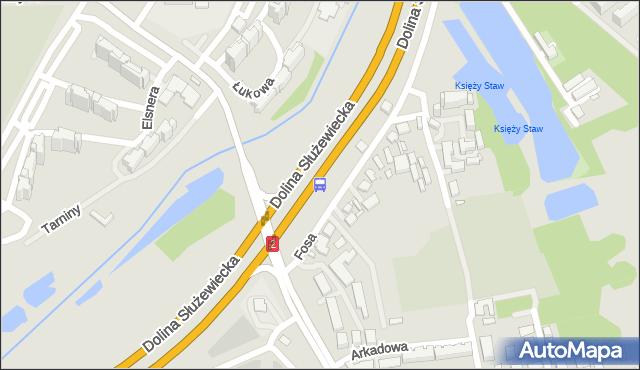Przystanek Nowoursynowska 02. ZTM Warszawa - Warszawa (id 309802) na mapie Targeo