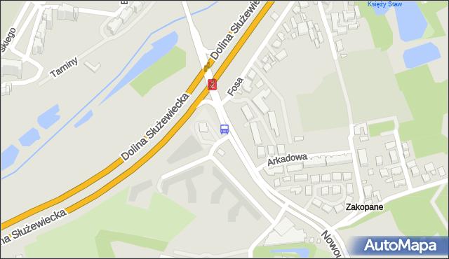 Przystanek Nowoursynowska 03. ZTM Warszawa - Warszawa (id 309803) na mapie Targeo