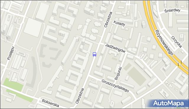 Przystanek Obrzeżna 01. ZTM Warszawa - Warszawa (id 326501) na mapie Targeo