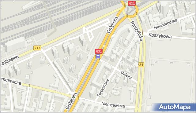 Przystanek Ochota-Ratusz 02. ZTM Warszawa - Warszawa (id 400202) na mapie Targeo