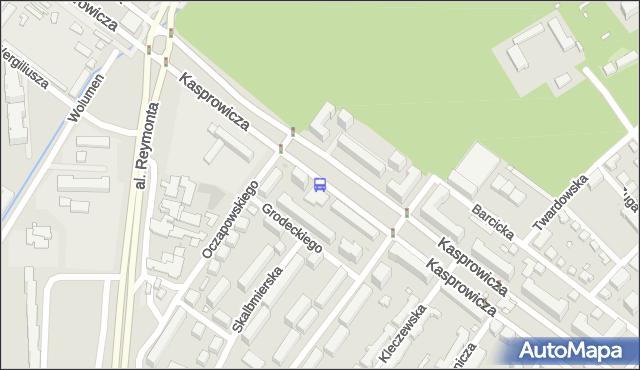 Przystanek Oczapowskiego 01. ZTM Warszawa - Warszawa (id 605401) na mapie Targeo