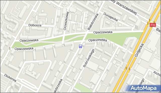 Przystanek Opaczewska 01. ZTM Warszawa - Warszawa (id 411801) na mapie Targeo
