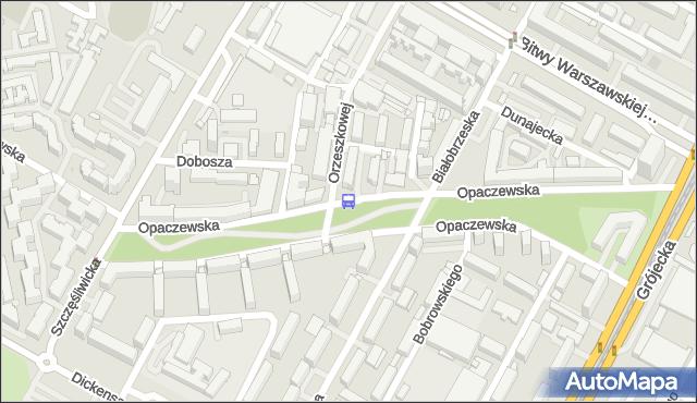 Przystanek Opaczewska 04. ZTM Warszawa - Warszawa (id 411804) na mapie Targeo