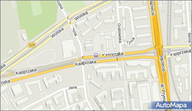 Przystanek Ordona 02. ZTM Warszawa - Warszawa (id 504402) na mapie Targeo