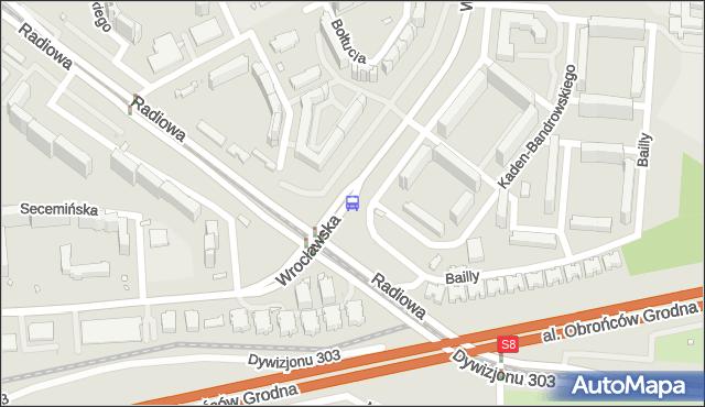 Przystanek Orlich Gniazd 01. ZTM Warszawa - Warszawa (id 510601) na mapie Targeo