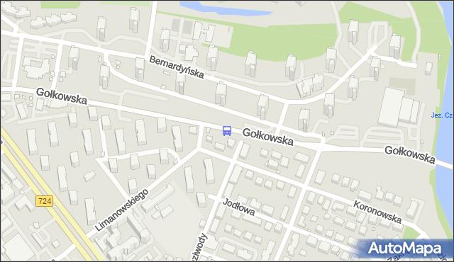 Przystanek os.Bernardyńska 01. ZTM Warszawa - Warszawa (id 308901) na mapie Targeo