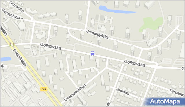 Przystanek os.Bernardyńska 02. ZTM Warszawa - Warszawa (id 308902) na mapie Targeo